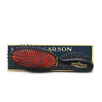 Mason Pearson Brush SENSITIVE POCKET SB4 Pure Bristle Dark Ruby/Black - RRP $175