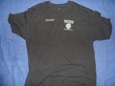 IRON MAIDEN 2013 Maiden England Security CREW shirt VERY RARE size XXL