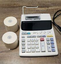 New ListingSharp El-1801V Electronic Calculator 12 Digit 2 Color Printer Adding Machin Nice