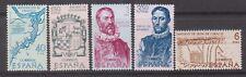 Espagne 1968 SG1947/51 Histoire de découverte et conquête de l'Amérique Comme neuf neuf sans charnière