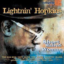 LIGHTNIN' HOPKINS - SHORT HAIRED  CD NEU