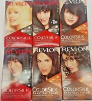 REVLON COLORSILK Beautiful Color Permanent Hair Dye Bleach (choose your shade)
