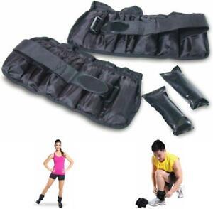 pesas para los tobillos pesa ajustable tobillo 10 LBS ejercicios en casa hogar