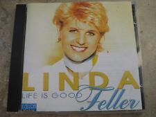 CD  LINDA FELLER  Life is good   Rare CD in Topzustand!