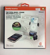 RoadTrip Bluetooth HandsFree Calling & FM Transmitter w/ built in MIC by Griffin