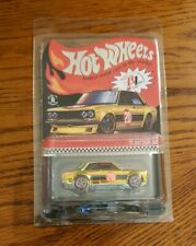 2020 Hot Wheels RLC Gold '71 Datsun 510 Real Riders Red Line Club