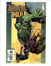 Ultimate Wolverine vs. Hulk #6, NM+ 2009 Hulk🔥 Marvel Cover by LEINIL FRANCIS