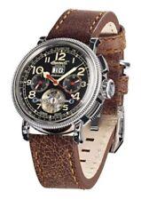 Relojes de pulsera Ingersoll Rand de plata de cuero