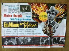 Ein Mann wird gejagt (A0-Kinoplakat '66) Marlon Brando / Jane Fonda / Jane Fonda