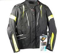 IXS Nemesis Damen Motorradjacke Motorrad Jacke schwarz-gelb Größe DXXL
