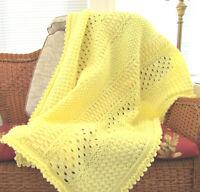 Naomi Rose Crochet Afghan Pattern