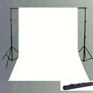 Weiss 300 x 600 cm Hintergrundsystem 2.8x3 Stative + Hintergrund Foto Stud