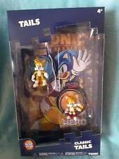 SONIC THE HEDGEHOG Tails modern classic 2 figures comic box geek Christmas gift