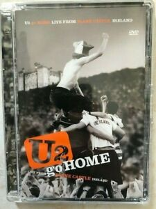 COFANETTO  DVD U2 GO HOME LIVE AT SLANE CASTLE IRELAND 2001