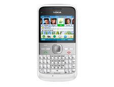 original Nokia E5 Blanc 3G WI-FI GPRS 5MP QWERTY Clavier débloqué