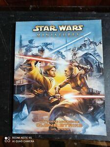manuale fantasy - STAR WARS MINIATURES - Inglese