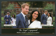 Marshall Islands 2018 MNH Prince Harry & Meghan Royal Engagement 2v M/S Stamps