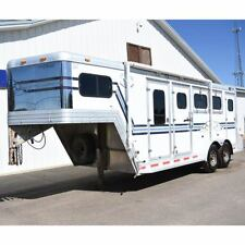 1999 Cato Classic 3 Horse Trailer GN with Dressing Room, Awning