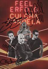 handsignierte Originale Autogrammkarte Culcha Candela Feel Erfolg