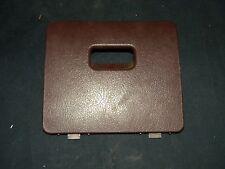 NISSAN HARDBODY 94-97 PATHFINDER 94-95  FUSE BOX COVER DOOR BURGUNDY