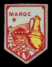 Ecusson imprimé ♦ (patch/crest printed) ♦ Maroc