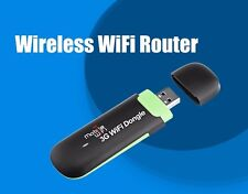 7.2Mbps 3G Wireless Router Mobile Wifi Hotspot SIM Card Slot USB Wifi Dongle
