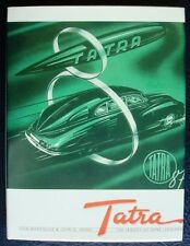 TATRA THE LEGACY OF HANS LEDWINKA MARGOLIUS, HENRY CAR BOOK