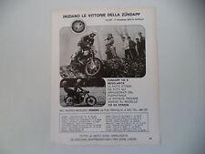 advertising Pubblicità 1971 MOTO ZUNDAPP GS 125 S REGOLARITA'/KS STRADA