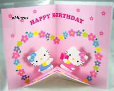 SANRIO HELLO KITTY BIRTHDAY 3D CARD PINK £9.99 now £6.9