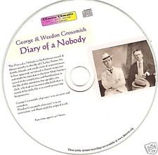 George & Weedon Grossmith - The Diary Of A Nobody - Audio Book MP3 CD