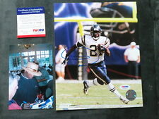 Ladainian Tomlinson signed Chargers 8x10 photo PSA/DNA cert PROOF!!