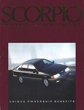 Auto Brochure - Ford Lincoln Mercury - Merkur - Scorpio  (A1084)