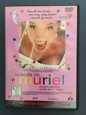 DVD LA BODA DE MURIEL Toni Collette Bill Hunter Rachel Griffiths P.J. HOGAN