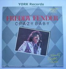 FREDDY FENDER - Crazy Baby - 20 Classic Tracks - Ex Con LP Record Meteor SMT 012