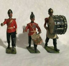Britains Band Of The Line Figures. Lead Soldiers 3 piece