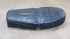 1973 Honda CB450 CB 450 ORIGINAL Seat  rubber manual compartment saddle