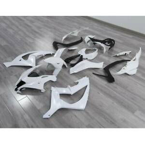 Unpainted Injection Molded Fairing Bodywork Kit Fit For Kawasaki ZX10R 16-20