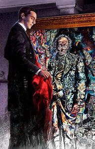 PICTURE OF DORIAN GRAY 1945 movie Art Print Poster horror by Scott Jackson