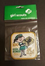 Girl Scout Patch 100 Years of Girl Scouts Sew-on Patch