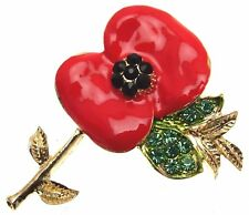 Red Flower Brooches Floral Brooches And Pins