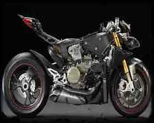 DUCATI 1199 Panigale 12 n A4 Foto Impresión moto antigua añejada De
