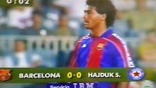FC Barcelona 4-0 Hajduk Split 24-08-1993 Joan Gamper, Romario, Stoichkov on DVD.