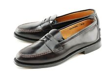 NEW W BOX | BROOKS BROTHERS 10D #8 UNLINED SHELL CORDOVAN LOAFERS DRESS SHOES