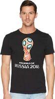 adidas World Cup Soccer World Cup Emblem Men's Tee, 2XL Black New