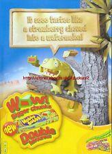 "Hubba Bubba Max ""Strawberry And Watermelon"" 2006 Magazine Advert #4741"