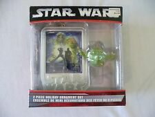 Star Wars Christmas Holiday Ornament * Adler * YODA, CHEWY, JABBA * 2006 * NEW