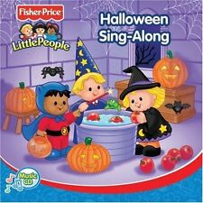 Halloween Sing-Along By Little People On Audio CD Album 2005 Brand New