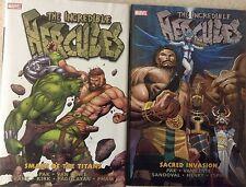 Incredible Hercules Vol. 1: Smash of the Titans and  Vol. 2:Secret Invasion HC