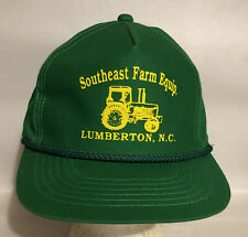 Vintage Southeast Farm Equip Lumberton, Nc SnapBack Cap Hat Yr Headwear Korea