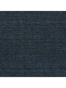 John Lewis Aquaclean Wilton Upholstery Fabric, Navy 1.7m